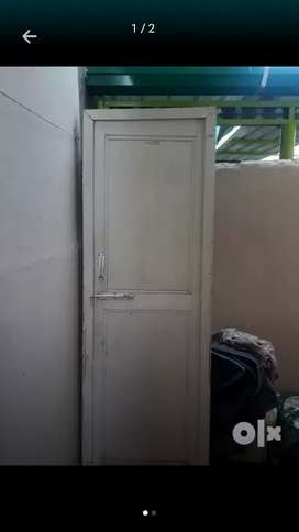 Two plastic doors for 2000 rs available for sale