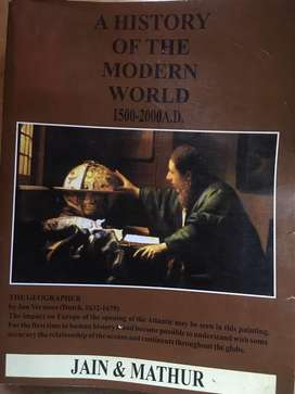 A HISTORY OF THE MODERN WORLD (1500-2000 AD)