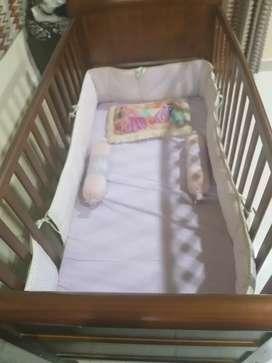 Baby crib cum sofa