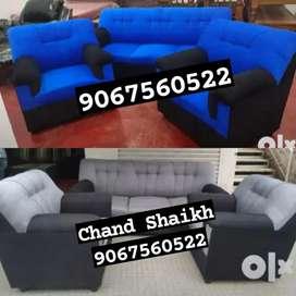 Vintage STYLISH LOOK NEW designer Sofa Set