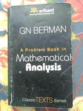GN BERMAN - A Problem book in Mathematical Analysis