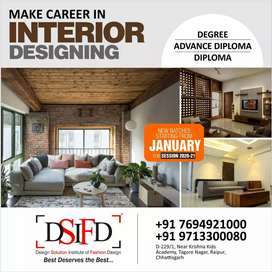 INTERIOR DESIGNER FACULTY (DEGRRE HOLDAR )