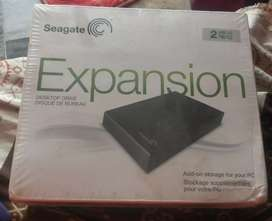 Seagate expansion desktop drive disque de bureau hard disk 2/TB