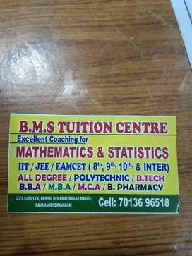 Maths tutions 100percent pass