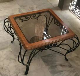 Wrought Iron Centre Tables 2+1