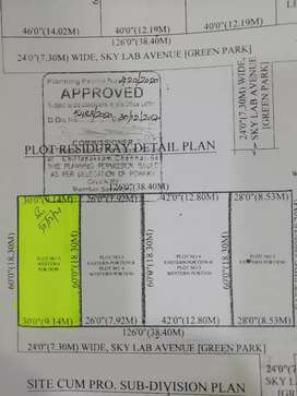 Luxury area plot at Sithalapakkam