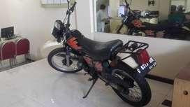 Suzuki Trail TS 125 tahun 2002 original