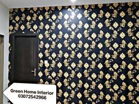 Wallpaper *3D Picture * Blinds*Wooden Floor * Vinyl Tile * Pvc Penal *
