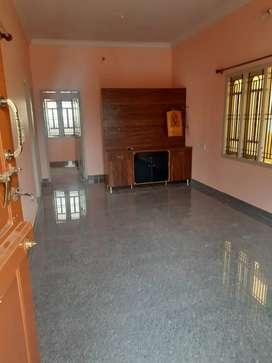 Vijayanagar  House for lease 1st floor east facing
