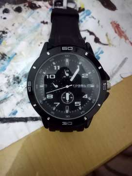 Jam tangan Fossil black