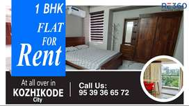 1 Bhk Flat in all over Calicut city.
