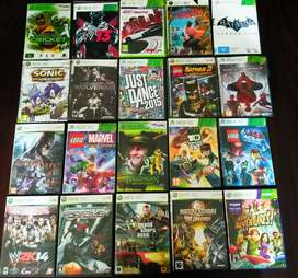 Games avaliable for (Xbox 360)