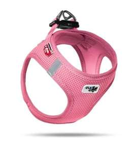 Dog Harness Pink air Mesh. Imported. Made in Switzerland.