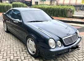 Mercedes benz clk 200 avantgarde rare item japan spec siap pakai