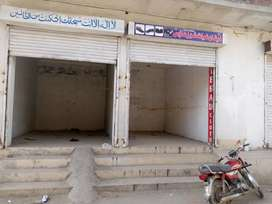 Two shopes available hassanabad gate no 1