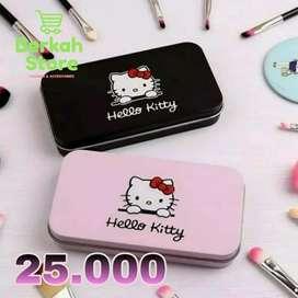 Make Up Brush Set 7 in 1 Hello Kitty/Peralatan Makeup LucuHello kitty