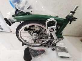 Brompton S6L-X Racing Green