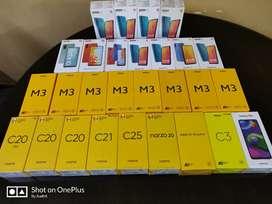 Redmi Realme Poco Smartphones Sealed Piece with Bill
