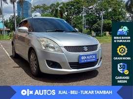 [OLX Autos] Suzuki Swift 1.4 GX A/T 2013 Abu-abu