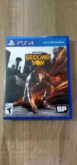 Kaset BD Game PS4 Ori Infamous Second Son Reg All