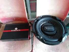Paketan Monoblok INTERSYS dan subwoofer 12in VENOM TURBO