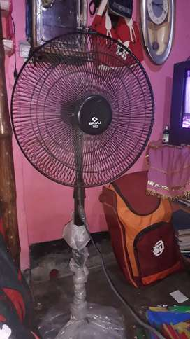 A fan which is made in india . Compani name BAKAJ