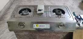 Gas Oven With 2 Burners