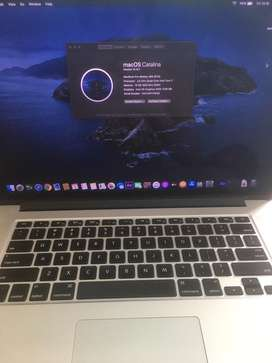 Dijual Cepat Macbook pro Retina 15' I7, Ram 16 gb ssd 256