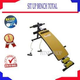 Sit Up Bench Merk Total I Papan sit up pengecil perut