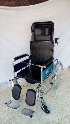 jual kursi roda selonjor baru murah bergaransi bisa COD