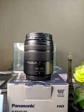 Lensa TELE Panasonic Lumix G Vario 45-150mm F 4.0-5.6 ASPH MEGA O.I.S