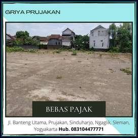Paling MURAH Siap Bangun Dekat JaKal Km 8 Hak Milik, Free BPHTB
