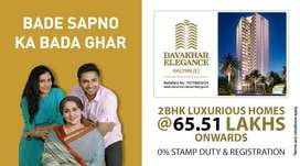 1158 Sq Ft 2 BHK Flats-Davakhar Elegance in Kalyan East, Mumbai