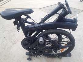 Sepeda Lipat Trifold 3 Blackdop