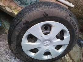 4 Tyers with wheel original Swift dizre, ritz R185