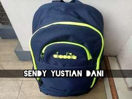 Sale! New & Original Diadora Backpack Tas Ransel Sekolah Kuliah Kerja