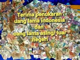 Terima penukaran uang lama indo dan asing