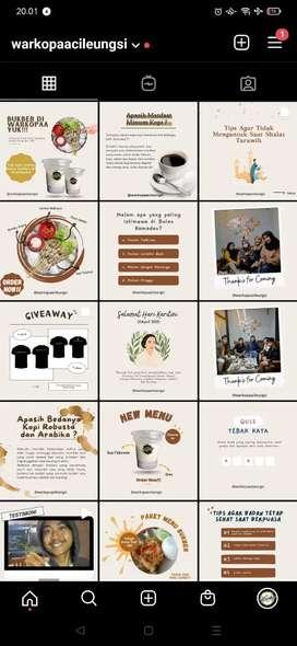 Desain Feeds Instagram termurah