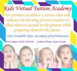 Kids Virtual Tuition Academy