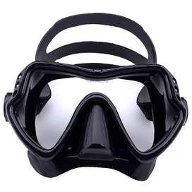 ZACRO Kacamata Selam Scuba Diving Tempered Glass - 502 - Black