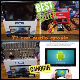 Big promo 2din terlaris android link 7inc pca+camera hd grosir om
