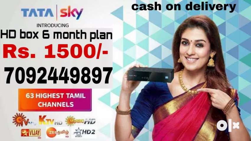 Tata Sky Hd Connection Offer ,Same Day Installation with 3 Year Warran 0
