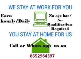 One round interview for backend, data entry, , voice non-voice