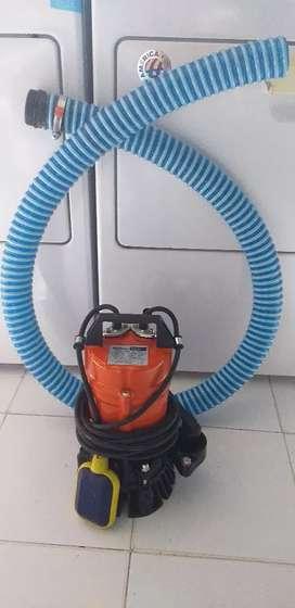 Jual cepat mesin pompa celup/alkon shimizu kondisi secon seperti baru
