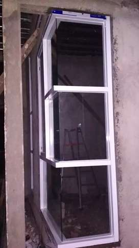 Kusen pintu dan jendela aluminium