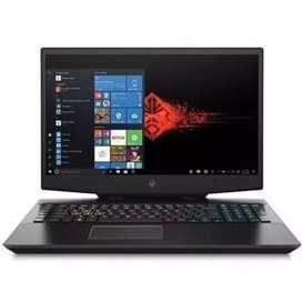 Laptop Gaming HP Omen 17 i7 9750 16GB 512ssd RTX2060 Kredit tanpa CC