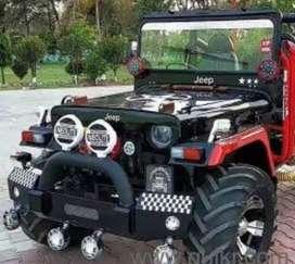 Modified jeep