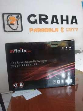 Cctv kamera 2mp dvr 4 out hd infinity