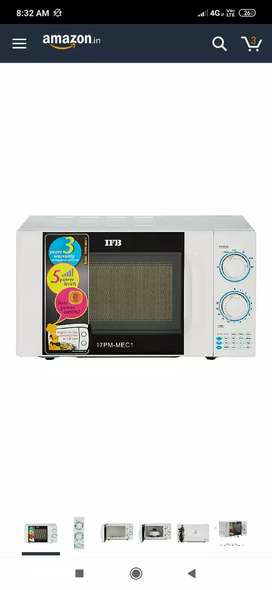 Brand new IFB 17l solo convection microwave