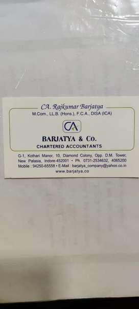 Internship for Account Officer